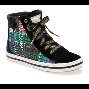 Kate Spade Keds Double Decker Hi Top Sneakers